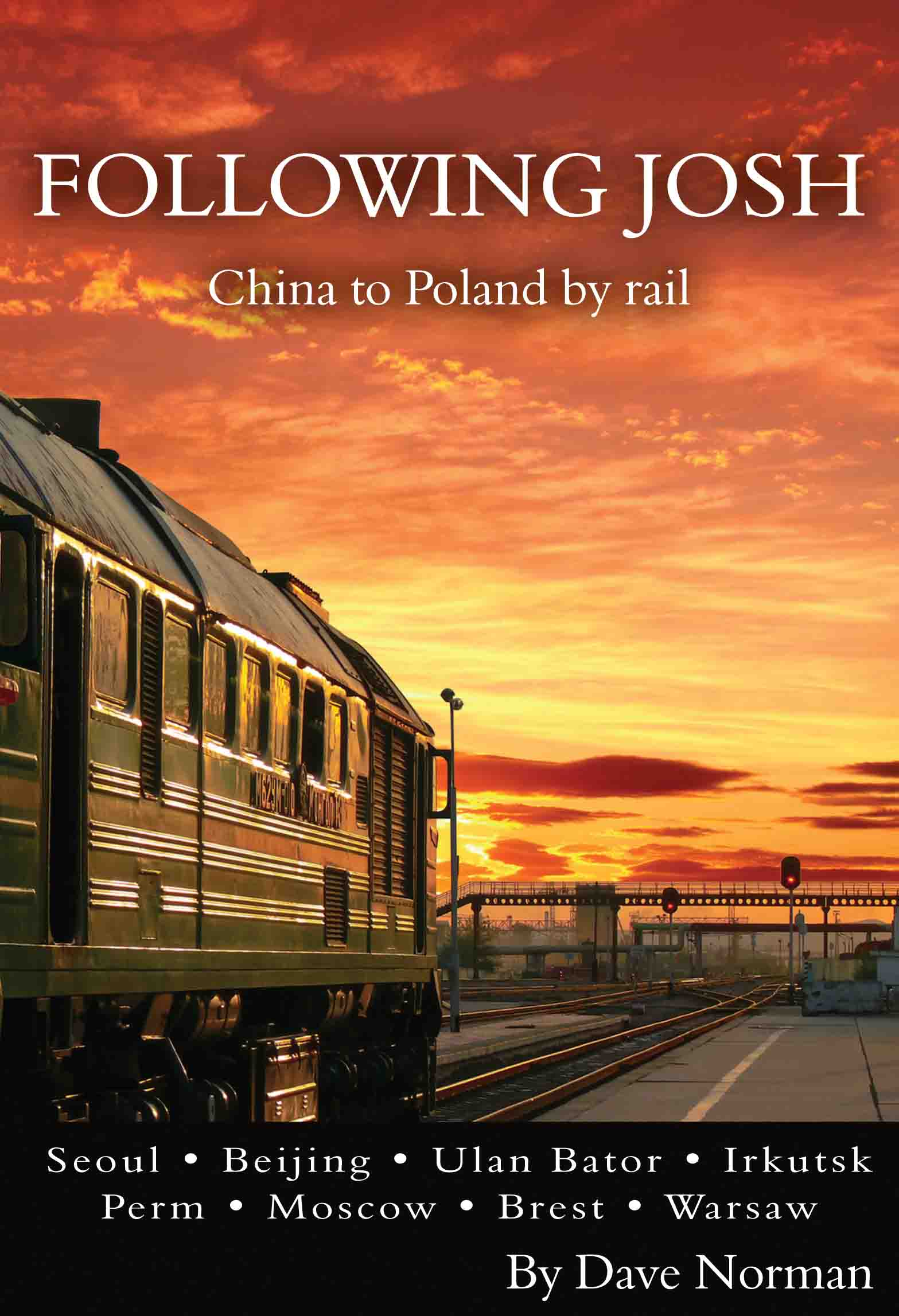 Ride the Trans Siberian Railroad!
